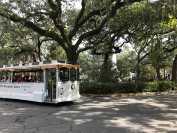 a square in Savannah.