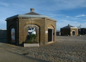 Woolwich Arsenal guard house.